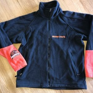 Columbia Oregon State Beavers Zip Fleece Jacket
